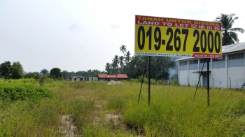 Forty Thousand SF Land Main Road Kuala Selangor